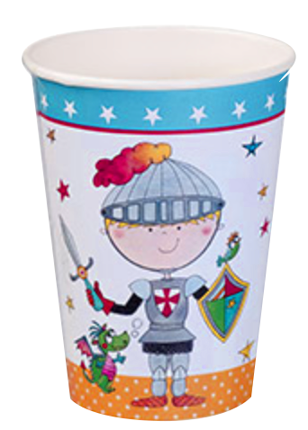Brave Knight Party Cups