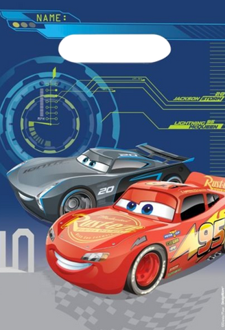 Cars 3 Party Loot Bags
