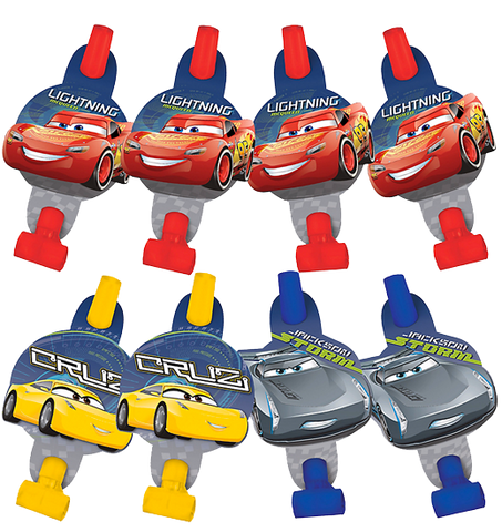 Cars 3 Party Blowers