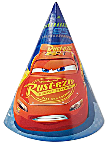 Cars 3 Cone Party Hats