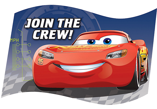 Cars 3 Party Invites