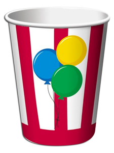 Circus Time Party Cups