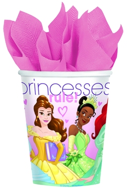 Disney Princess Party Cups pk8