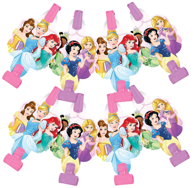 Disney Princess Party Blowers