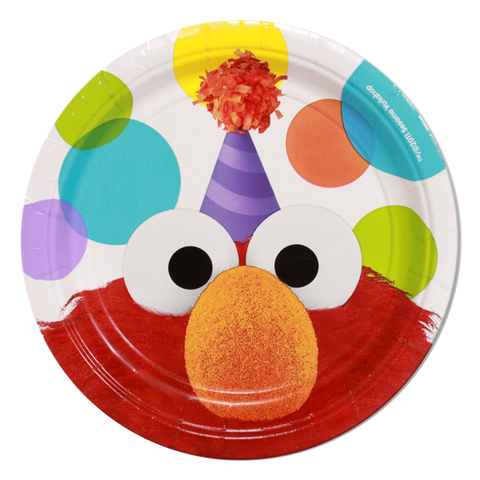 Elmo Lunch Party Plates