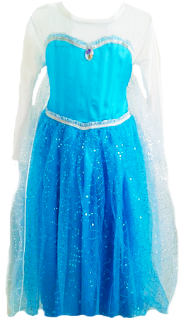 Elsa Frozen Party Dress S