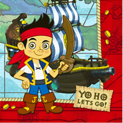 Jake and the Never Land Pirates Party Napkins