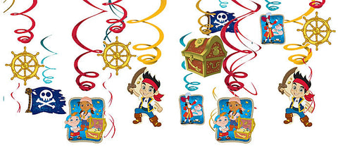 Jake and the Neverland Pirates Swirl Decorations
