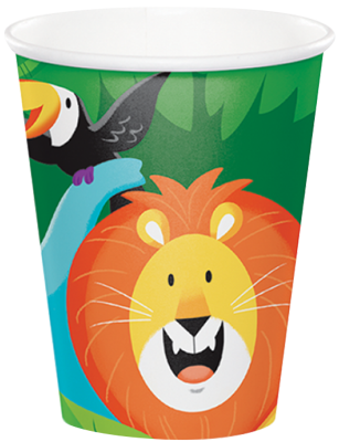 Safari JUngle Party Cups Auckland
