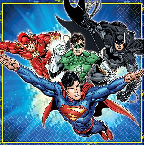 Justice League Lunch Napkins