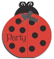 Little Ladybug party invites