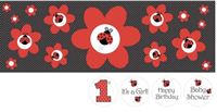 Little Ladybug Party Banner