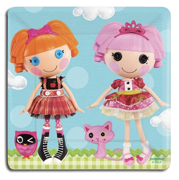 Lalaloopsy Party Dinner Plates