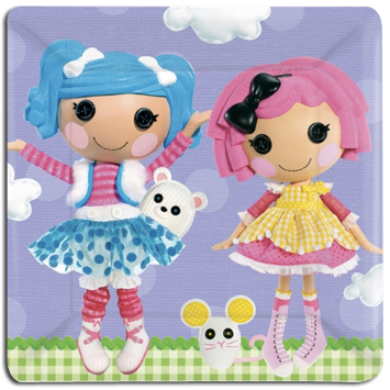 Lalaloopsy Party Lunch Plates