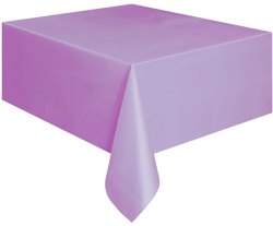 Lavender Plastic Table Cloth