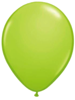 Lime Green Balloons - Single