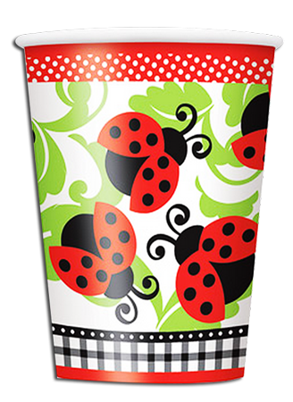 Lively ladybugs Party Cups
