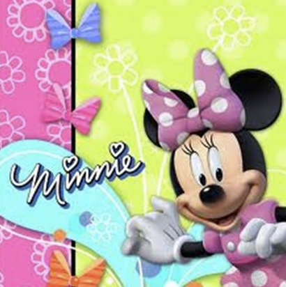 Minnie Mouse Lunch Napkins