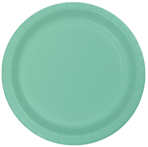 Mint Small Party Plates pk24