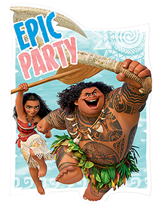 Moana Party Invitations