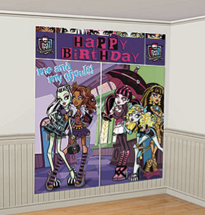 Monster High Scene Setter Decoration