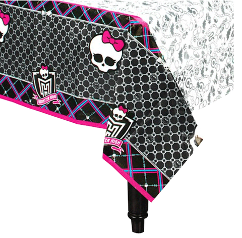Monster High Paper Table Cloth