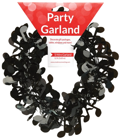 Musical Notes Party Garland
