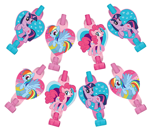 My Little Pony Party Blowers