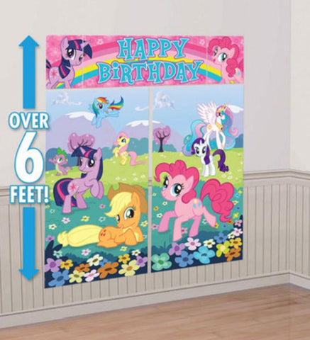 My Little Pony Scene Setter Wall Decoration