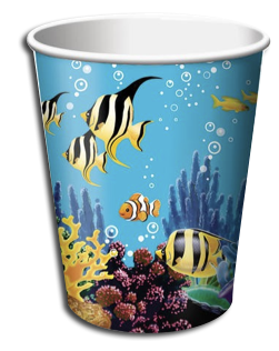 Oceans Party Cups
