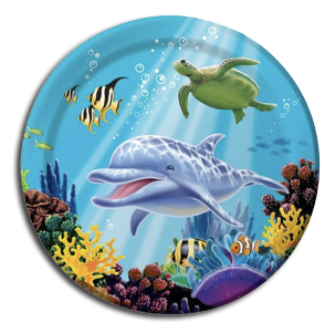 Oceans Party Dinner Plates