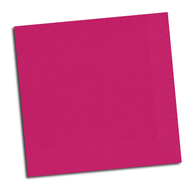 Magenta Pink Lunch Napkins