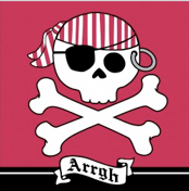 Pirate Parrty napkins