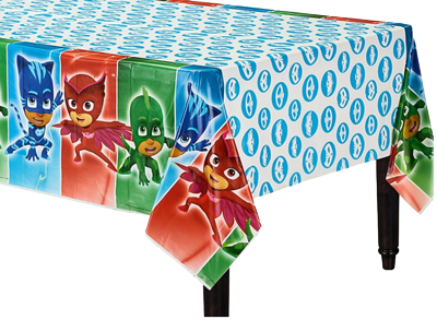 PJ Masks Plastic Table Cloth