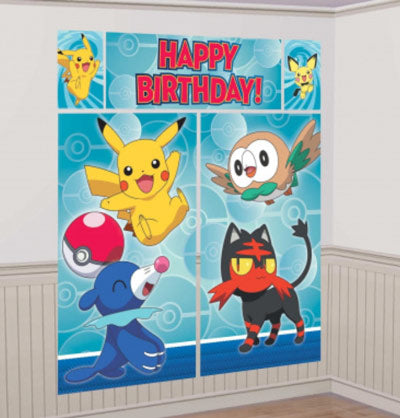 Pokemon Scene Setter Wall Decoration