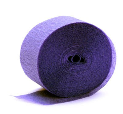 Purple Paper Streamer