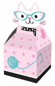 Purr-Fect Pussy Cat Treat Boxes