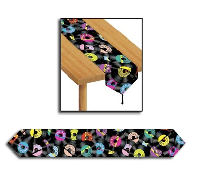 Rock n Roll Table Runner