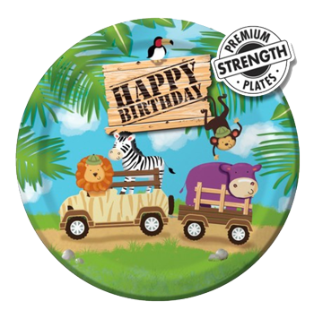 Safari Jungle Party Plates