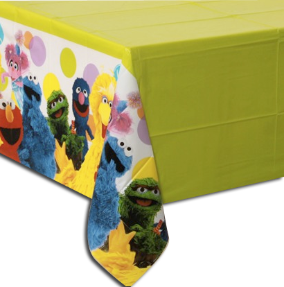 Sesame Street Table Cloth