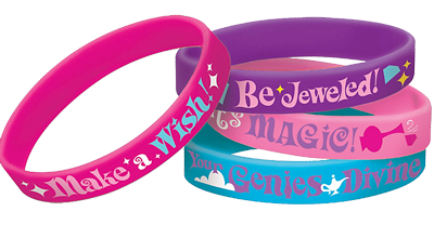Shimmer and Shine Rubber Bracelets