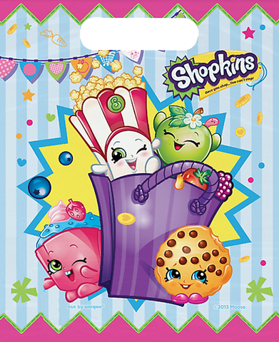 Shopkins Party Loot Bags