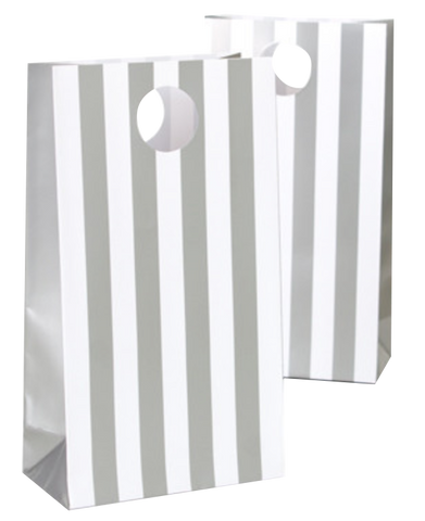 Silver Stripe Party Bags