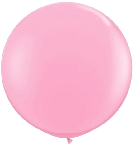 Soft Pink Jumbo Party Balloons