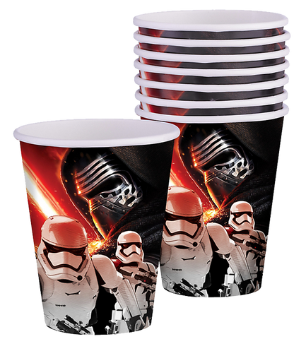 Star Wars 7 Party Cups
