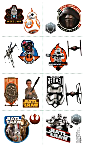 Star Wars Party Tattoos