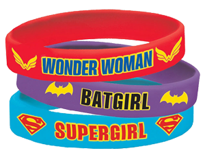 Super Hero Girls Rubber Bracelets