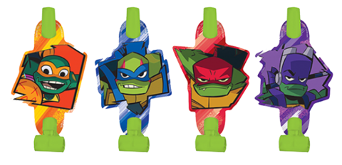 Teenage Mutant Ninja Turtles Party Blowers