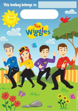 Wiggles Party Loot Bags