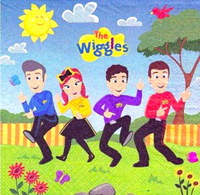 The Wiggles Party Napkins